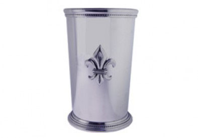 Louisiana Mint Julep Cup with Fleur de Lis Medallion collection with 1 products