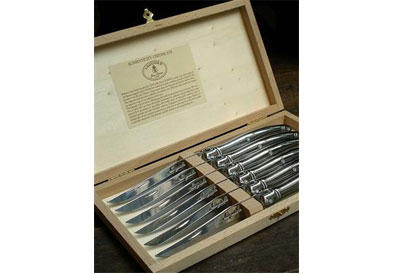 Laguiole   Steak Knives, Stainless Steel- Set of 6 $130.00