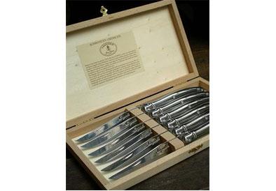 $140.00 Stainless Steel Steak Knives, Set of 6
