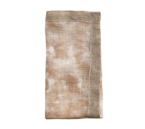 Kim Seybert Linens  Napkins Dip Dye Gauze Ivory and Beige  $37.00