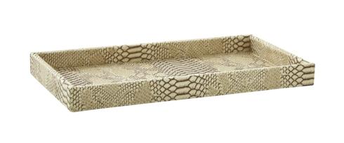 Kiyasa Signature   Python Bone Vanity Tray $55.00