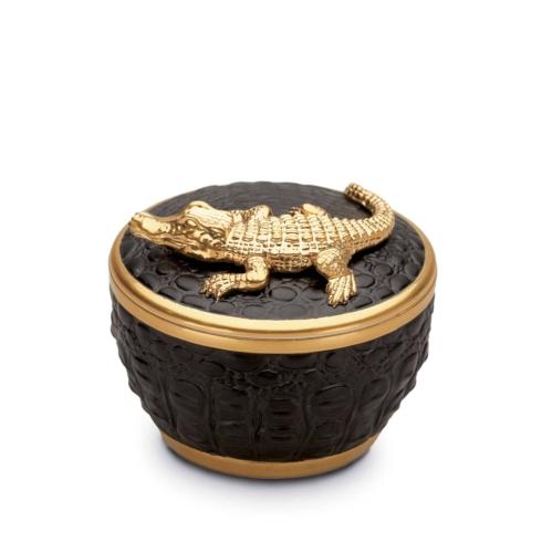 $150.00 Crocodile Black Candle