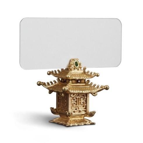 $250.00 Pagoda Place Card Holders, Set of 6