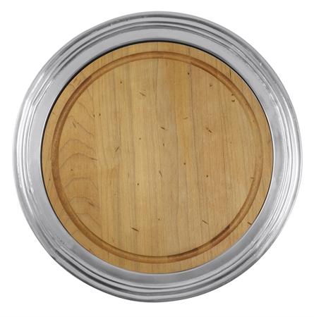 Mariposa  Classic Round Cheese Board, Maple $139.00