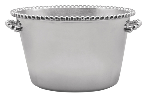 Mariposa  String of Pearls Pearled Medium Ice Bucket $250.00