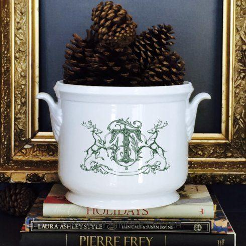 Champagne Bucket with Stag Crest