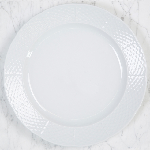 Sasha Nicholas  Weave Simply White Charger Plate $34.00