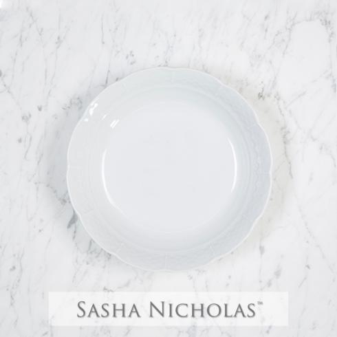 Sasha Nicholas  Weave Simply White Cereal Bowl $26.00