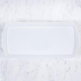 Sasha Nicholas  Weave Simply White Hostess Platter $68.00