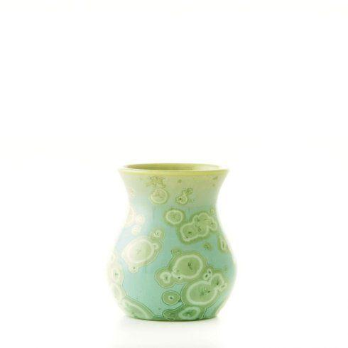 Simon Pearce  PURE Crystalline Curio Jade Bud Vase $85.00