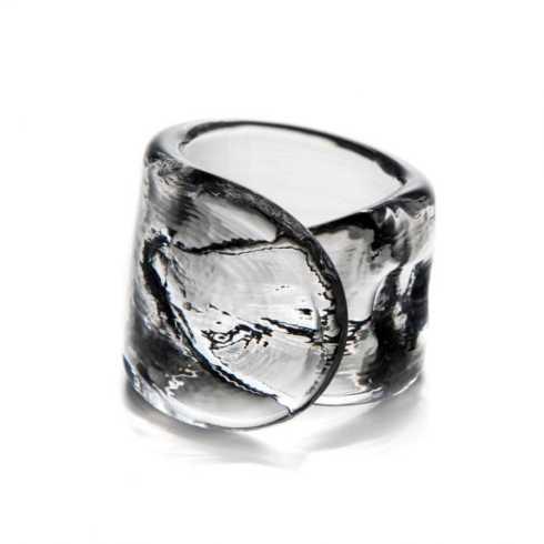 Simon Pearce  Ascutney Napkin Ring $25.00