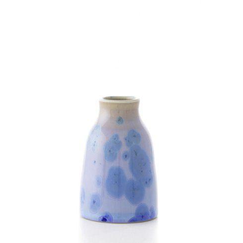 Simon Pearce  PURE Crystalline Modern Cobalt Bud Vase $85.00