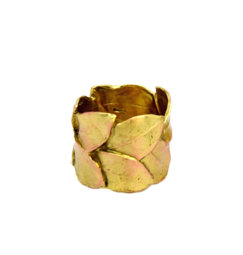 Michael Michaud Table Art   Bay Leaf Napkin Rings, Set of 4 $54.00