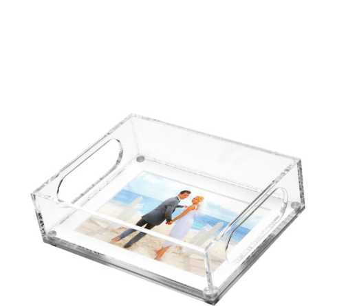 Tara Wilson Designs  Trays Small Photo Tray with White Mat $100.00
