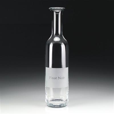 William Yeoward  Labelled Wine Carafe - Pinot Noir $170.00