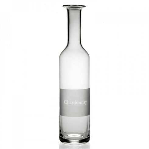 William Yeoward  Labelled Wine Carafe - Chardonnay $170.00
