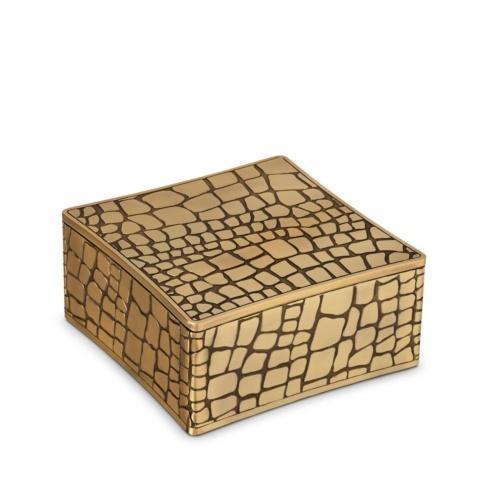 $375.00 Crocodile Square Box