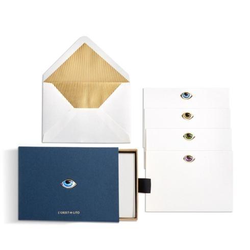 $95.00 Lito Stationery Box, Set of 12