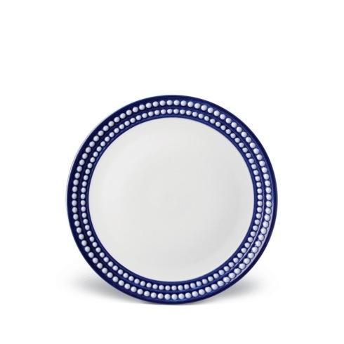 L'Objet  Perlée Blue Dessert Plate $72.00
