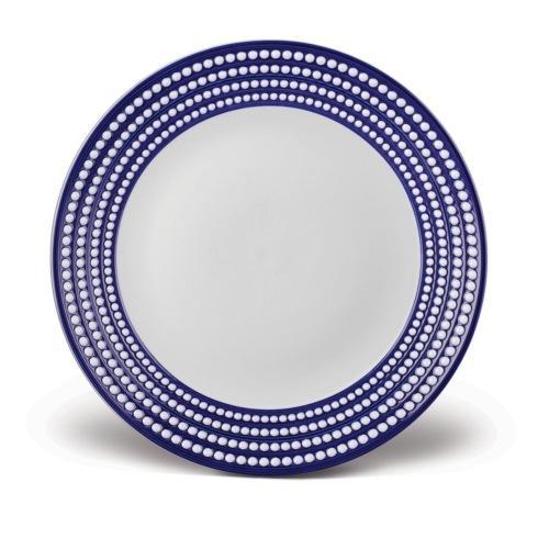 L'Objet  Perlée Blue Round Platter $374.00