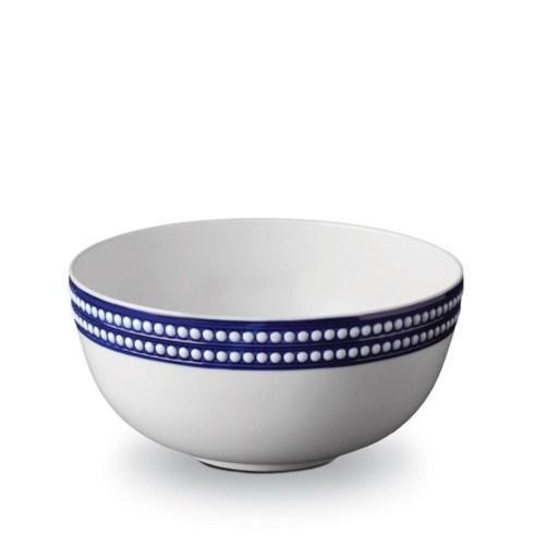 L'Objet  Perlée Blue Serving Bowl $384.00