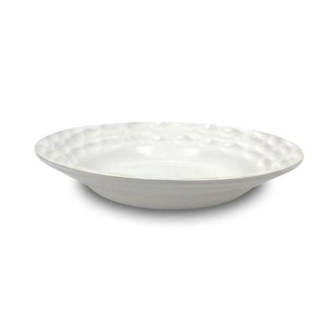 Truro White Rimmed Dinner Bowl