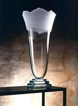 Schlanser Design Studio   Scapes Vase-Ice $650.00