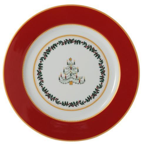 $69.00 Grenadiers Salad Plate-Red Tree