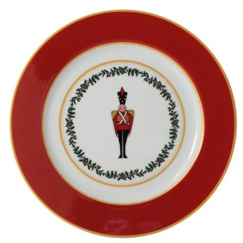 $69.00 Grenadiers Salad Plate- Red Soldier