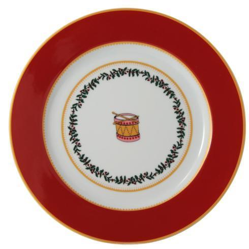 $69.00 Grenadiers Salad Plate-Red Drum