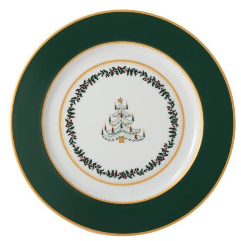 $69.00 Grenadiers Salad Plate-Green Tree