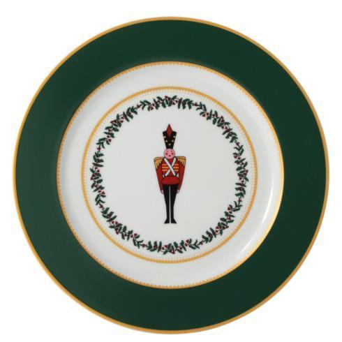 $69.00 Grenadiers Salad Plate-Green Soldier