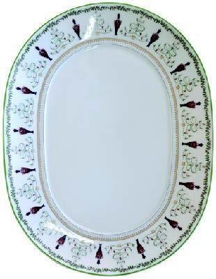$421.00 Grenadiers Oval Platter