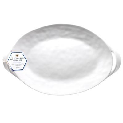 Le Cadeaux   Bianco Per Tutti 2-Handled Platter $54.95