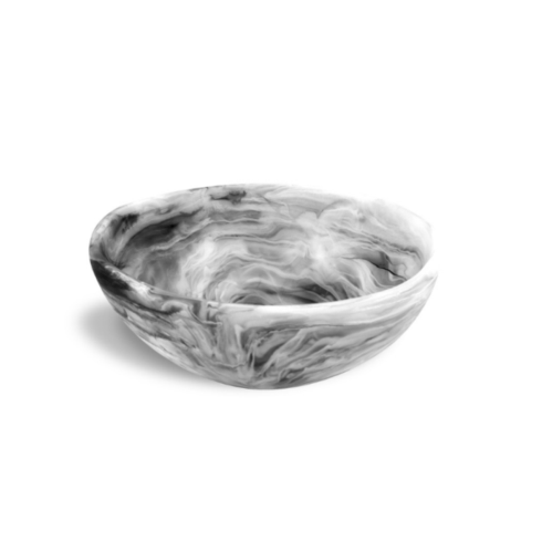$179.95 Wave Bowl-Black Swirl-Large