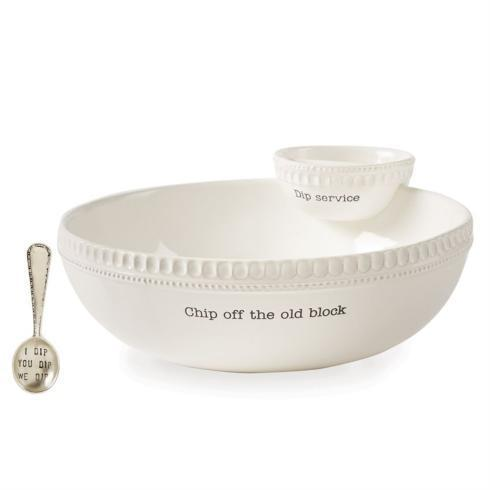 $49.95 Chip Off The Old Block Stacked Chip & Dip