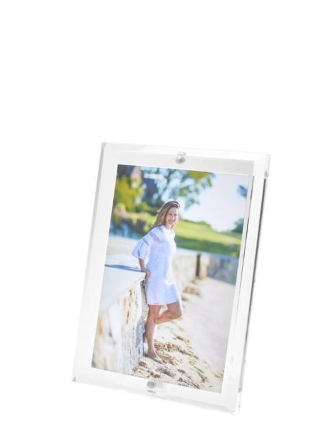 $59.95 Beveled Edge Acrylic Frame 4x6