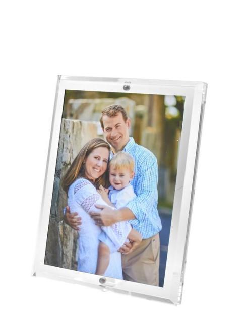 $69.95 Beveled Edge Acrylic Frame 5x7