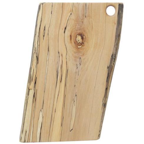 "Peterman's Boards & Bowls   Spaulted Maple Cut Board 15"" $104.95"