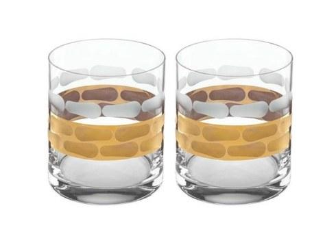 $85.00 Truro Gold Double Old Fashioned-Pair