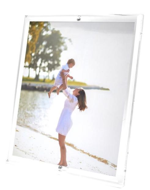 $144.95 Beveled Edge Acrylic Frame 8x10