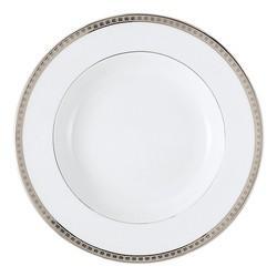 Bernardaud  Athena Platinum Athena Platinum Rim Soup $106.00