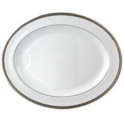 Bernardaud  Athena Platinum Athena Platinum Oval Platter $431.00