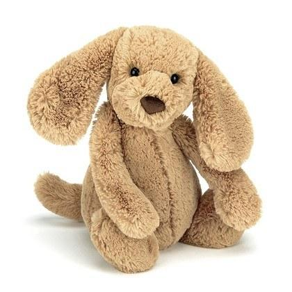 $14.95 Bashful Small Puppy-Toffee