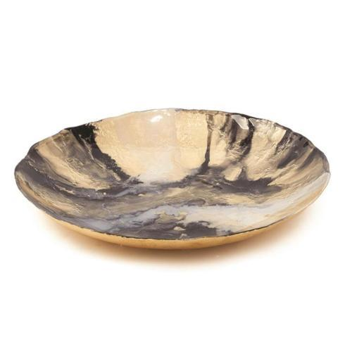 Two\'s Company   Gold & Black Platter $150.00