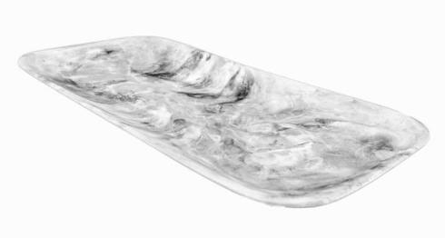 Classical Rectangular Platter-Black Swirl collection with 1 products