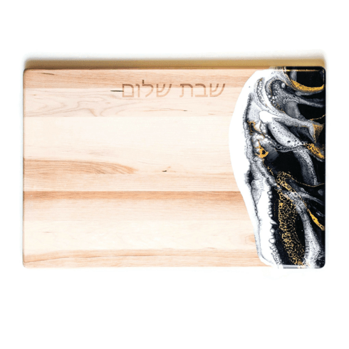 $94.95 Challah Board with Resin