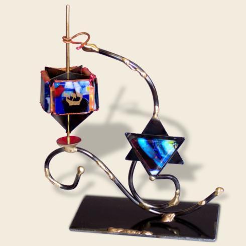 $90.00 Dreidle with Star Of David
