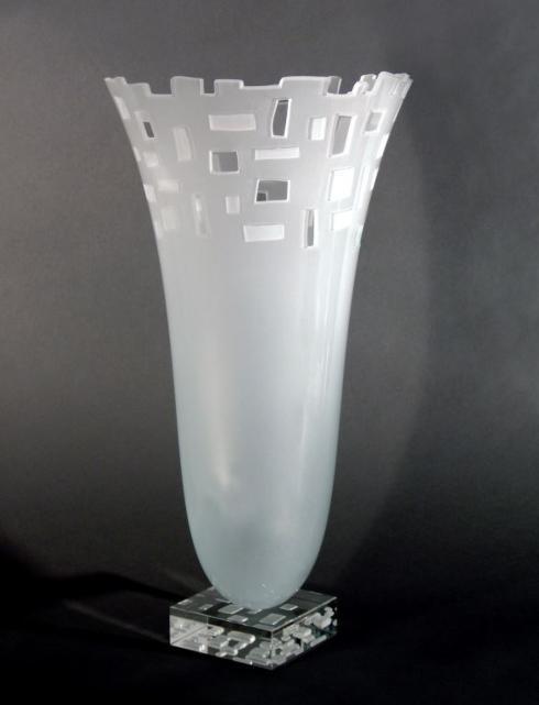 $650.00 Loft Vase-Ice