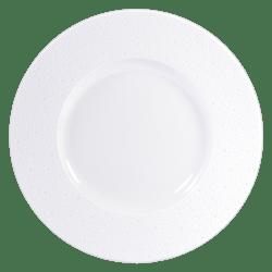 $97.00 Ecume White Service Plate